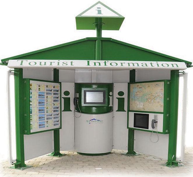 ایستگاه اطلاع رسانی فضاهای باز